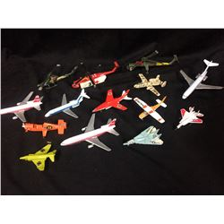 MIXED TOY AIRPLANES LOT