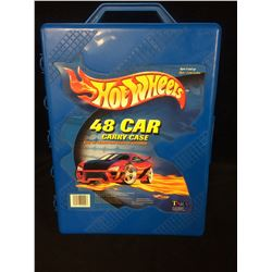VINTAGE HOT WHEELS CARRYING CASE (48 CARS)