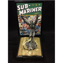 LIMITED EDITION SUB-MARINER 1945 GOLDEN AGE EDITION FINE PEWTER COMIC BOOK CHAMPIONS FIGURE