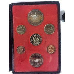 1973 ROYAL CANADIAN MINT COIN SET (SILVER PROOF)