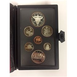 1982 ROYAL CANADIAN MINT COIN SET (SILVER PROOF)