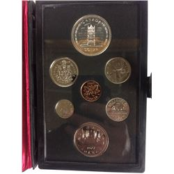 1977 ROYAL CANADIAN MINT COIN SET (SILVER PROOF)