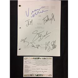 "AUTOGRAPHED ""SMITH"" PILOT W/ COA (RAY LIOTTA, AMY SMART, SIMON BAKER, FRANKY G, VIRGINIA MADSON)"