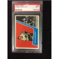 1963 TOPPS #35 MURRAY BELFOUR (NM 7) PSA
