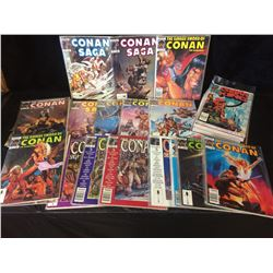 CONAN MARVEL MAGAZINE LOT