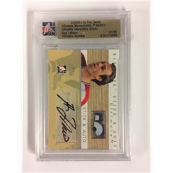 2006-07 IN THE GAME ULTIMATE MEMORABILIA 7TH EDITION ULTIMATE STICK/AUTO SILVER GUY LAFLEUR
