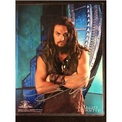 "Jason Momoa AUTOGRAPHED 8"" X 10"" PHOTO"