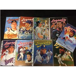 LEGENDS SPORTS MEMORABILIA PRICE GUIDE LOT