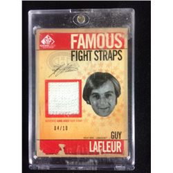 GUY LAFLEUR FAMOUS FIGHT STRAPS CARD (LIMITED EDITION 04/10)