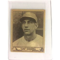 1940 Play Ball #157 Lou Chiozza