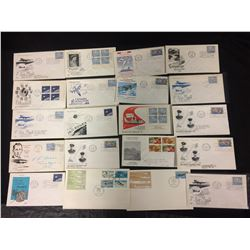CANADIAN FIRST DAY COVERS AIR & SPACE (1962-66)