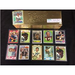 """1990 """"ACTION PACKED"""" FACTORY SET (1-281) ELWAY, SANDERS, MARINO, MONTANA, RICE & MORE"""