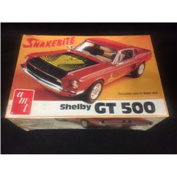 "AMT SHELBY GT 500 ""SNAKEBITE"" UNASSEMBLED MODEL KIT IN BOX"