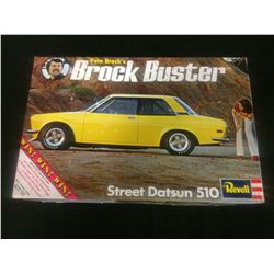 REVELL STREET DATSUN 510 BROCK BUSTER UNASSEMBLED MODEL KIT IN BOX