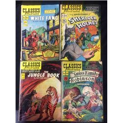 CLASSICS ILLUSTRATED COMIC BOOK LOT