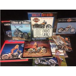 MOTORCYCLE WALL CALENDAR LOT