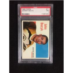 1960 TOPPS #11 JOHNNY BUCYK (NM 7) PSA