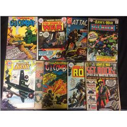 DC COMIC BOOK LOT (STAR SPANGLED WAR, G.I COMBAT & MORE)