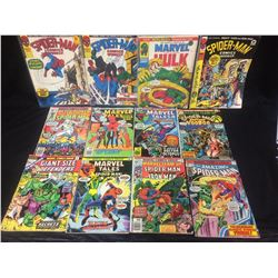 MARVEL COMIC BOOK LOT (SPIDER-MAN, MARVEL TALES & MORE)