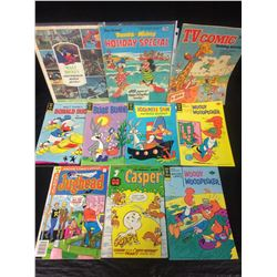 GOLD KEY COMIC BOOK LOT (PLUS CASPER & JUGHEAD)