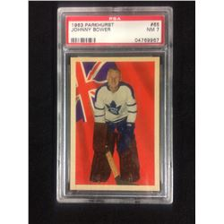 1963 PARKHURST #65 JOHNNY BOWER (NM 7) PSA