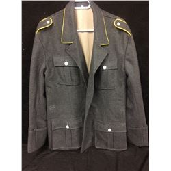 VINTAGE CANADIAN MILITARY WOOL JACKET (LARGE)