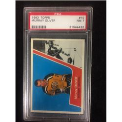 1963 TOPPS #10 MURRAY OLIVER (NM 7) PSA