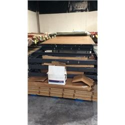 Fabric Cutter Table Or Work Bench Sells @ 2 P.m.