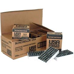 WINCHESTER AMMO USA 9MM CS LOT 115GR. STEEL CASE 750RDS
