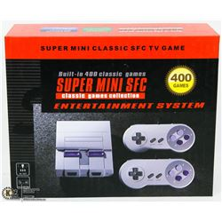 NEW SUPER MINI SFC GAME SYSTEM 400 BUILT IN