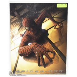 "SPIDERMAN WOOD PLAQUE POSTER  16""X20"""