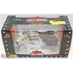 1:10 SCALE HARLEY DAVIDSON MOTORCYCLE MODEL