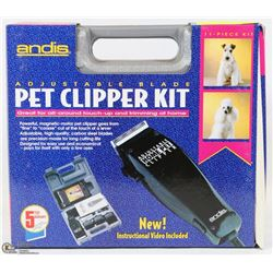 ANDIS HOME PET CLIPPER KIT