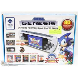 GENESIS PORTABLE GAME PLAYER WITH 80 BUILT IN GAME