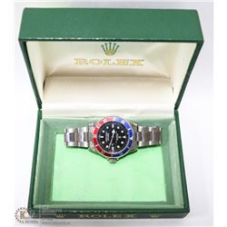 ROLEX REPLICA WATCH WITH AUTHENTIC ROLEX BOX.