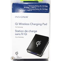 INSIGNIA QI WIRELESS CHARGING PAD FOR SAMSUNG W/