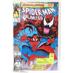 SPIDER-MAN #1 COMIC W/ AUTOGRAPH AND CERTIFICATE