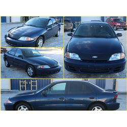 FEATURE #8 2002 CHEVROLET CAVALIER