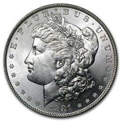 1881-S $1 Morgan Silver Dollar Coin