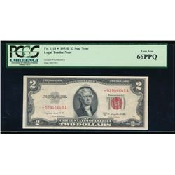 1953B $2 Legal Tender Note PCGS 66PPQ