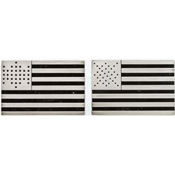 15th and 16th US Flag Silver Bars