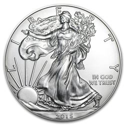 2015 1 oz American Eagle Silver Coin