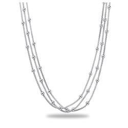Sterling Silver Polished Necklace
