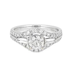 18KT White Gold 1.48ctw Diamond Ring