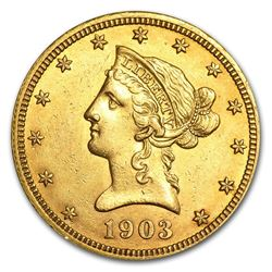 1903-O $10 Liberty Head Gold Coin