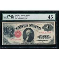 1914 $1 Legal Tender Note PMG 45