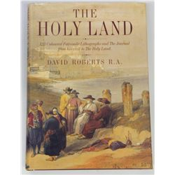 Book on David Robert's lithography prints of the Holy Land