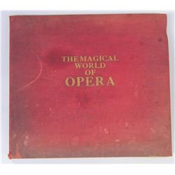 Collection of 13 opera vinyl records - The Magical world of Opera