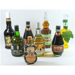 Collection of 8 alcoholic beverages