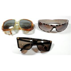 Collection of 3 pairs of quality vintage sunglasses